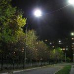 Освещение школьного двора
