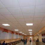 Замена освещения в школе на светодиодное