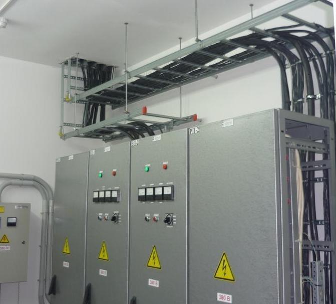 Реконструкция электрощитовой