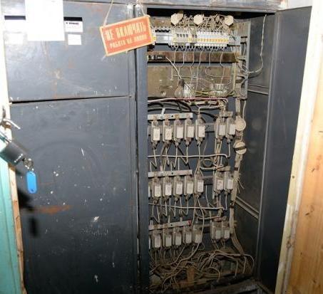 Эксплуатация электрощитовой
