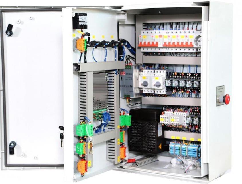Разработка, изготовление, наладка и монтаж на объекте шкафов управления
