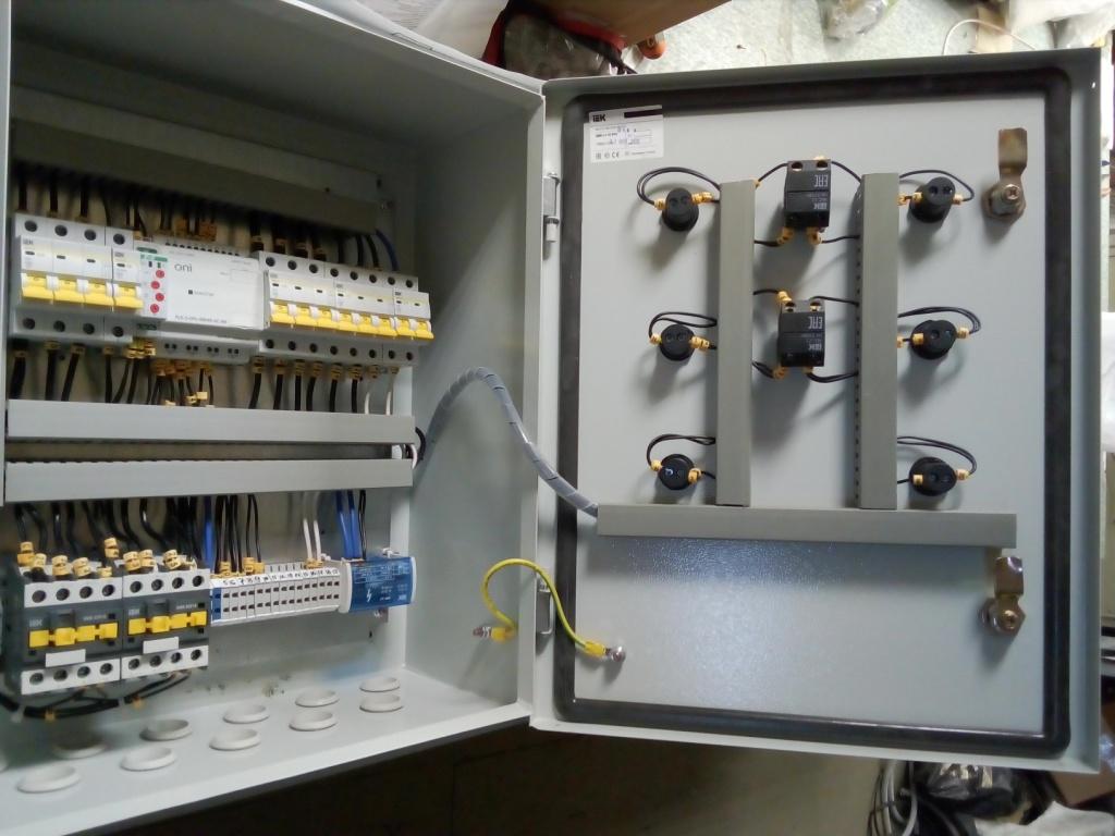 шкаф управления системой дымоудаления