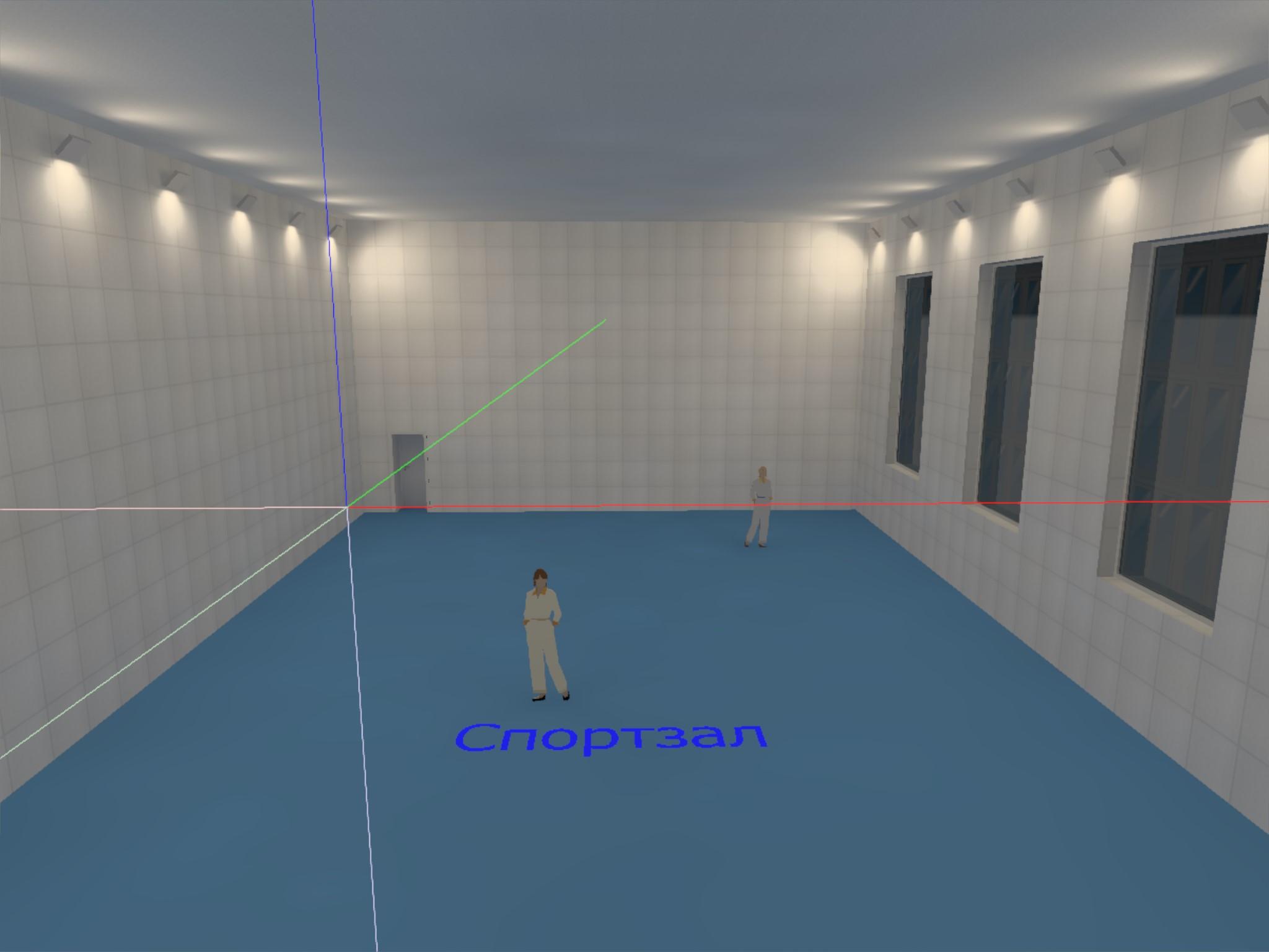Проектирование электроснабжения спортзала